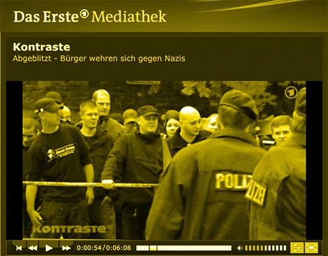 ARD Kontraste: Bericht zur Nazidemonstration in Velbert